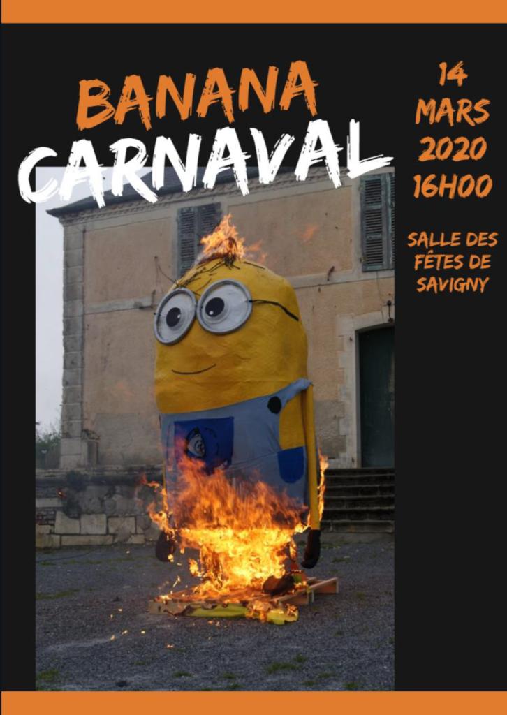 Banana carnaval APE Jonzier Savigny