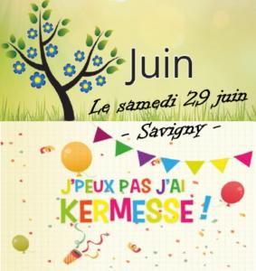 Kermesse de l'école à Savigny