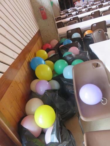 Des ballons